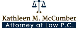 Kathleen M. McCumber Attorney at Law P.C., Logo